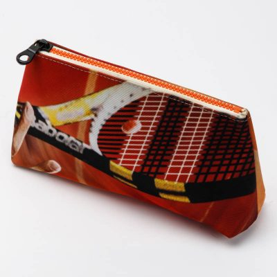 trousse toilette orange tennis